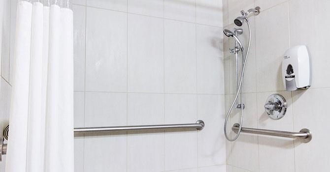 ADA bars in shower