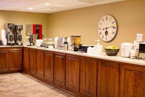 Breakfast at Grand Oaks Hotel in Branson MO
