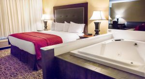 hotels with jacuzzi in room