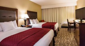 Double queen room grand oaks hotel branson mo