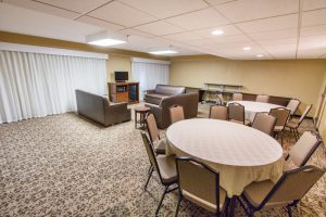Meeting room at Grand Oaks hotel in branson mo
